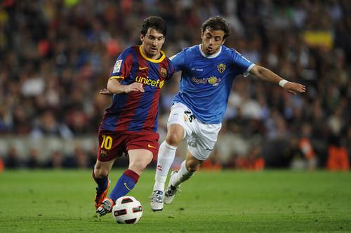 [La Liga] Barcelona v UD Almeria