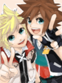 ^.^Roxas & Sora^.^ - roxas-and-sora photo