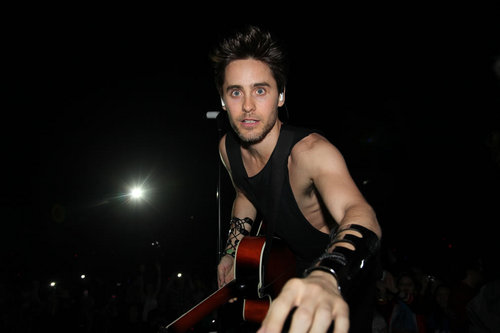 Jared Leto wallpaper containing a concert entitled 30 Seconds to Mars in LA - April 9, 2011