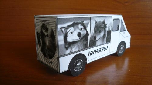 A&O themed фургон, ван