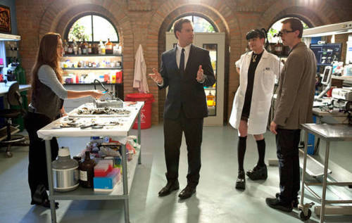 "Abby,McGee, Tony, and Ziva in ""Tell-All"""