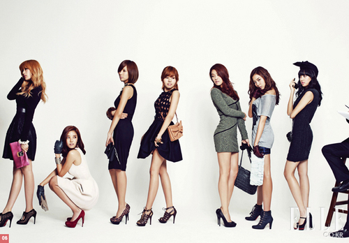 Afterschool n Sondambi photoshoot of ELLE