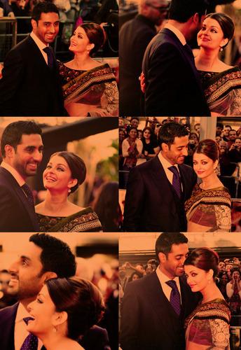 Aishwarya and Abishek in real love.