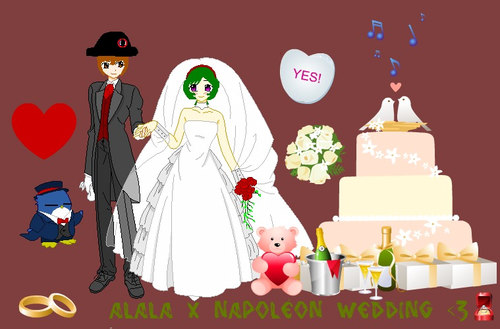 Alala x Napoléon wedding