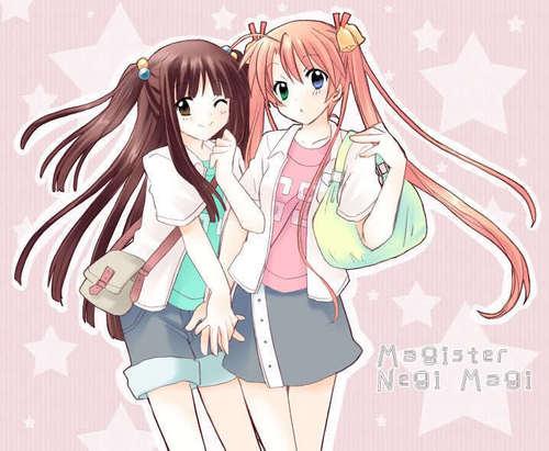 Asuna and Konoka ~Best Friends~