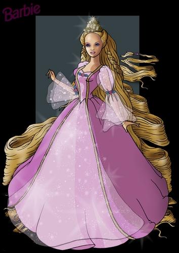 芭比娃娃 Rapunzel