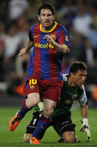 Barcelona v UD Almeria [La Liga]