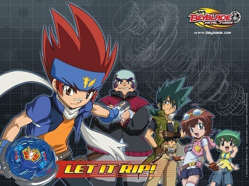beyblade Metal Fusion wallpaper with anime called beyblade M. F.