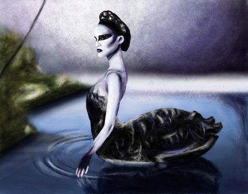 Black cisne Art♥