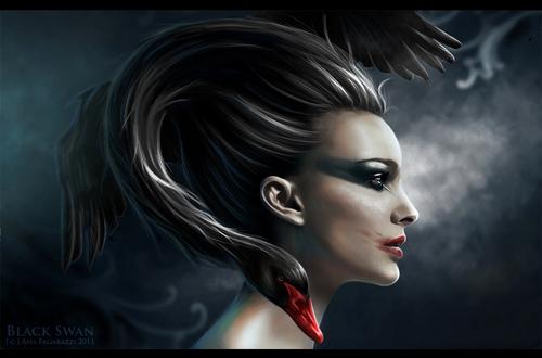 Black sisne Art♥
