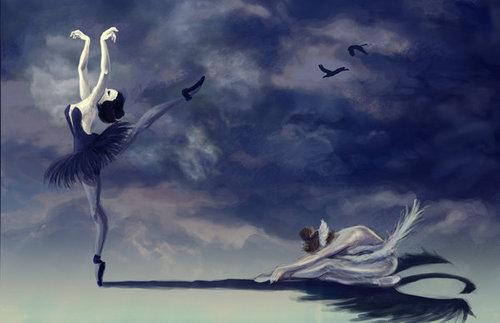 Black thiên nga Art♥