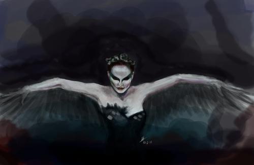 Black 白鳥, スワン