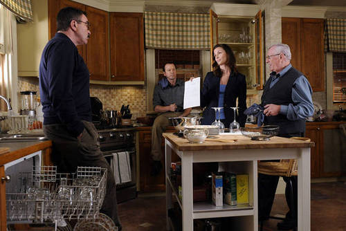 Blue Bloods (CBS) wallpaper possibly with a dishwasher, a kitchen, and a brasserie called Blue Bloods ~ Privilege