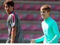 Bojan and Justin. Barcelona.