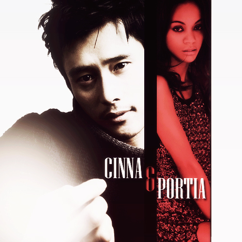 The Hunger Games wallpaper probably with a portrait entitled Cinna&Portia