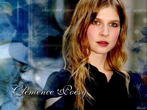 Clemence Poesy wallpaper with a portrait entitled Clemence Poesy