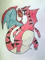 Clone Charizard drawing