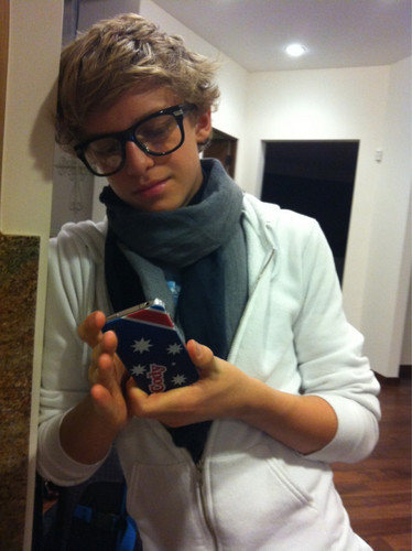 Cody& His Iphone<3 (Love that case!)
