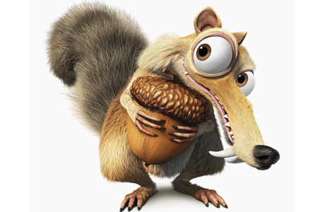 Cute Scrat - ice-age Photo