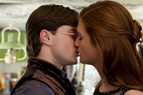 Harry and Ginny wallpaper titled DH Part 1 New Outtake