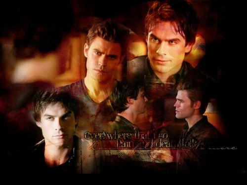 Damon and Stefan Salvatore wallpaper called Damon&Stefan ✯