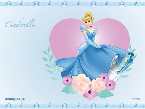 Bora ya Disney karatasi la kupamba ukuta entitled cinderella