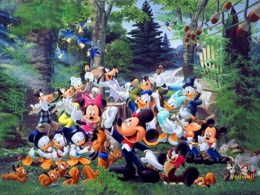 Http Www Fanpop Com Clubs Classic Disney Images 20844875 Title Mickey Friends Wallpaper