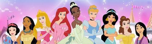 Disney Princess Lineup