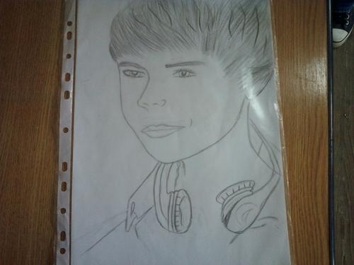 Drawing Justin