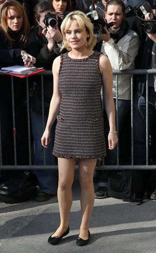Duffy   Chanel Fashion Show.