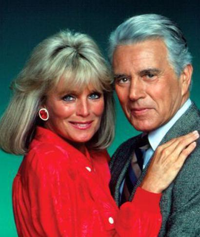 Dynasty-John Forsythe and Linda Evans