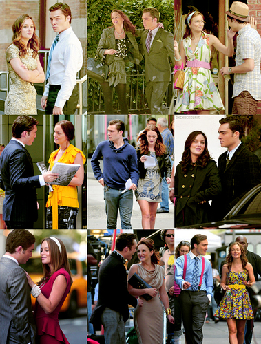Ed&Leighton {Behind the scenes}