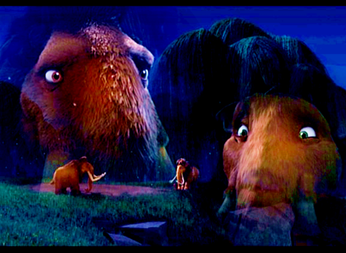 Ice Age Hintergrund called Ellie/Manny pic