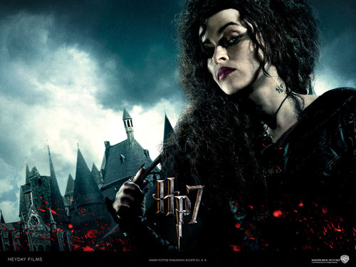 Bellatrix Lestrange wallpaper probably containing a concert entitled Evil Bella
