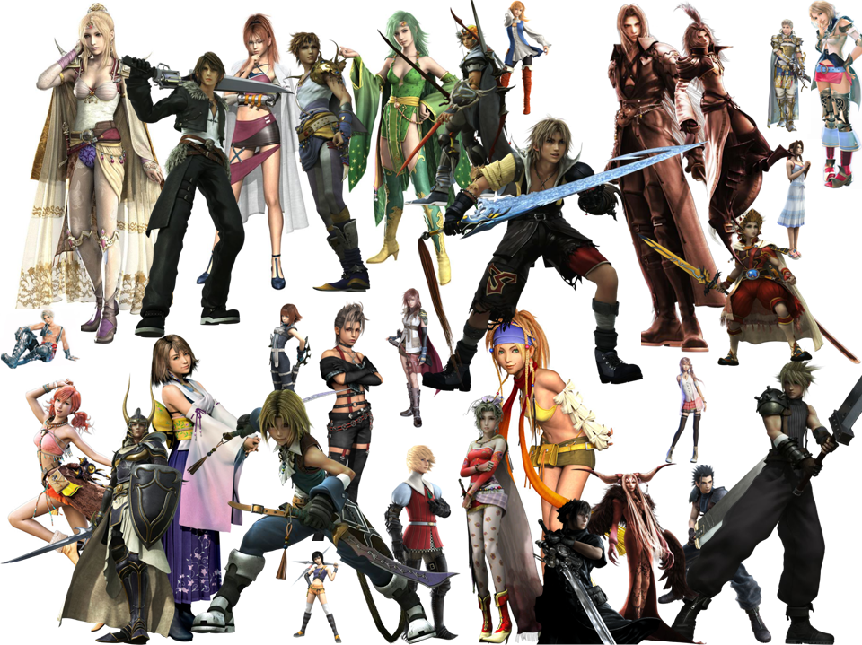 ff characters final fantasy photo 20882292 fanpop
