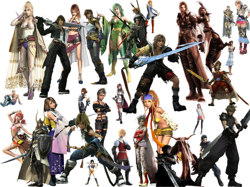 FF characters