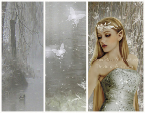 Fairies wallpaper possibly with a dinner dress, a gown, and a strapless entitled Fairy