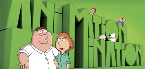 Family Guy's Animation Domination Graphic