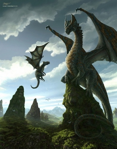 Dragons wallpaper titled Flying Lesson