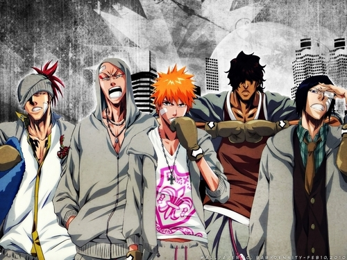 animê bleach wallpaper with animê entitled GROUP