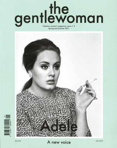 Gentlewoman Magazine [Spring &amp; Summer 2011] - adele Photo