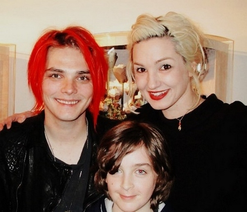 Gerard way & Lin-z