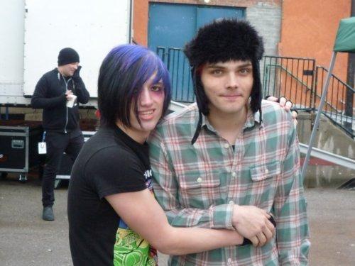 Gerard way & a ファン
