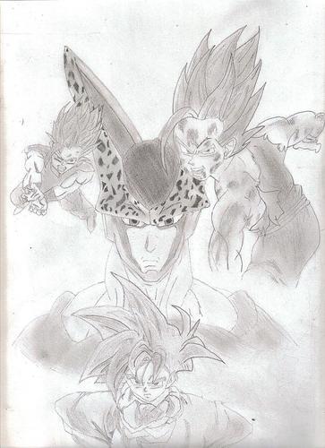 Gohan- cell saga