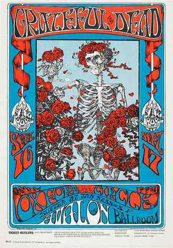 Grateful Dead Poster Art