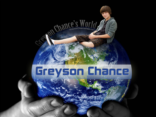 Greyson chance is my world