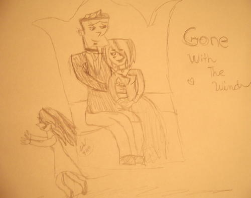 Gwen and Duncan ~ Gone With The Wind