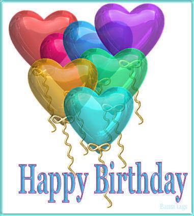 Birthday Balloons For Mackenzie ♥