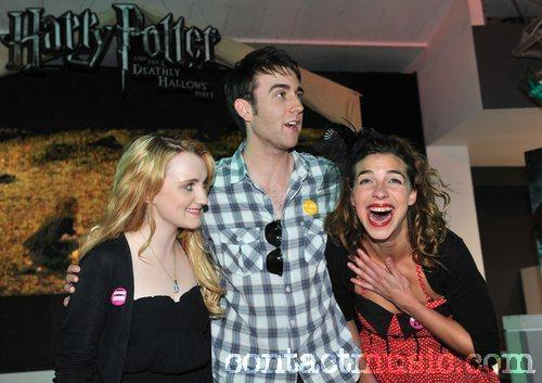 Harry Potter And The Deathly Hallows: Part 1 - DVD signing held at HMV oxford Street. London