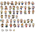 Hetalia Axis Powers - Incapacitalia Sprites